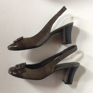 Paolo slingback Sandals